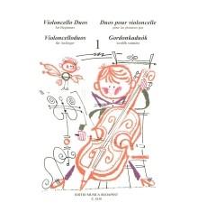 Duos pour violoncelle volume 1