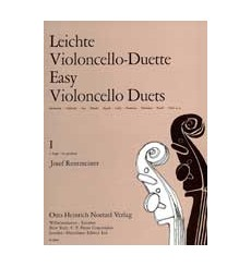 Leichte violoncello-duette volume 1