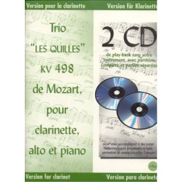 "Mozart + 2 CD - Trio "" Les Quilles"""