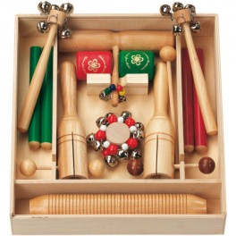 Set d'instruments Orff Roehma set 4 pour 13 musiciens