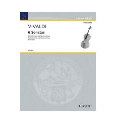 Six Sonates violoncelle et piano