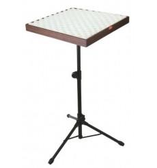 Table sur pied pour poser des percussions
