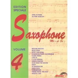 Edition spéciale saxophone (Mib et Sib) - Volume 4