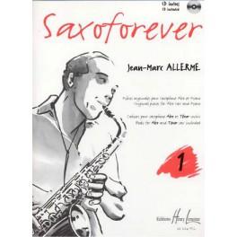 Saxoforever + CD - Volume 1