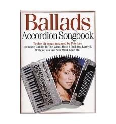 Ballads accordio songbook