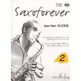 Saxoforever + CD - Volume 2