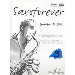 Saxoforever + CD - Volume 3