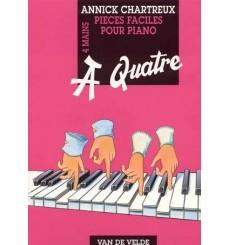 A quatre pièce faciles pour piano 4 mains