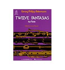 Twelve fantasias for flute