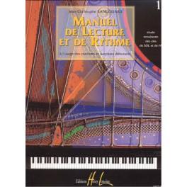 Manuel de lecture et de rythme - Volume 1