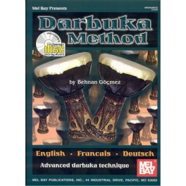 Darbuka method + CD - Advanced darbuka technique