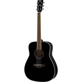 Guitare folk Yamaha FG820 noire