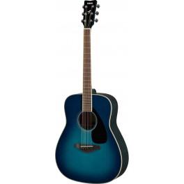 Guitare folk Yamaha FG820 bleue