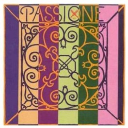 Jeu cordes violon Pirastro PASSIONE boules/mi boucle