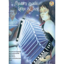 Modern music, latino & jazz + CD - Manu Maugain