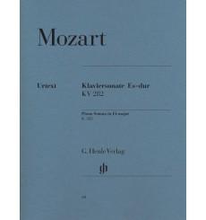 Mozart Sonate pour piano en mib majeur KV 282