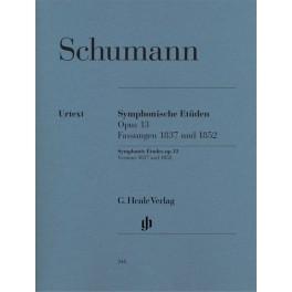 Schumann Etudes symphoniques pour piano Opus 13