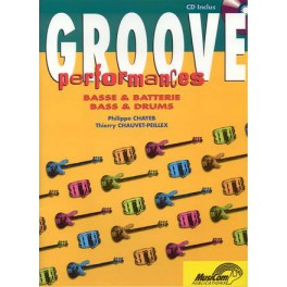 Groove performances + CD - Volume 1