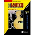 10 Ragtimes pour guitare +CD