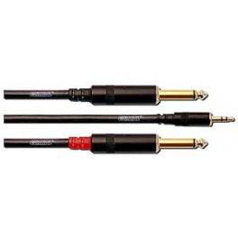 CORDIAL Câble Y 3 mètres Minijack - 2x jack