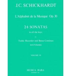 habet de la musique op.30 24 Sonates en toutes clés