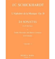 L'Alphabet de la Musique vol.5 24 Sonates