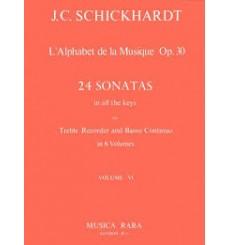 L'Alphabet de la Musique vol.6 24 Sonates