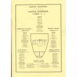 Agostini solfège rythmique - Volume 5