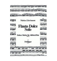 Flauto Dolce Solo 7 Stücke