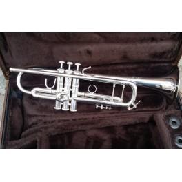 Trompette Bach Stradivarius 25/L finition argentée
