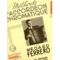 Méthode d'accordéon chromatique - 2ème année (jaune)