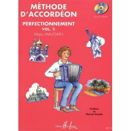 Méthode d'accordéon - Perfectionnement vol. 2