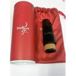 Bec saxophone alto Vintage Junior Barkley Pop 7 Rouge et noir