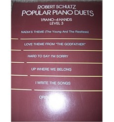 Popular piano duets level 3