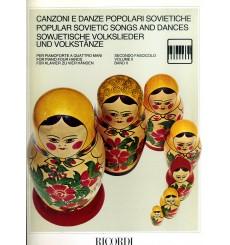 Canzoni e danze popolari sovietiche 4 mains