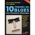 10 thèmes blues + CD - pour harmonica diatonique