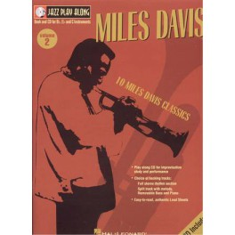 Davis Miles +CD - Jazz playalong vol.2