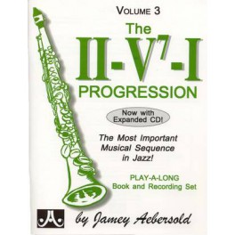 Aebersold II-V7-I progression + CD - Volume 3