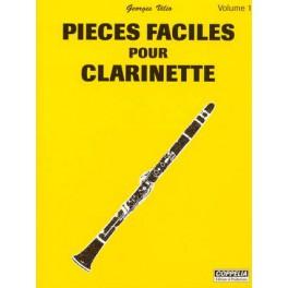 Pièces faciles pour clarinette - Volume 1