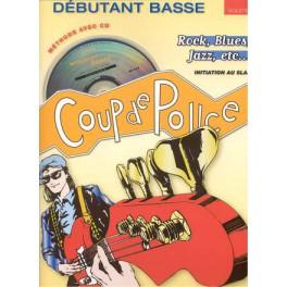 Coup de pouce Méthode de basse débutant + CD - Volume 1
