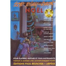 Top play back Noël + CD (Play Back)